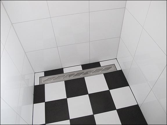 Golvbrunn dusch
