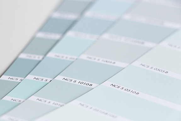 Inredning väggfärg pastell : fixa&dona | aprikos