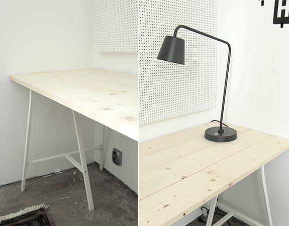 Arbetsbord och avlastningsyta