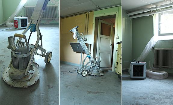 måla betonggolv källare