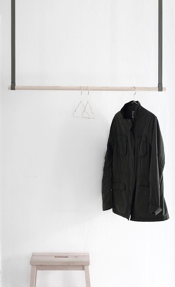 fixa&dona DIY u2013 klädhängare av rundstav