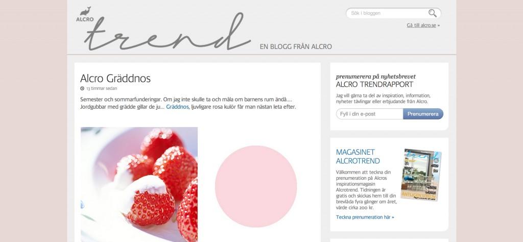 Alcro Trend - en blogg från Alcro