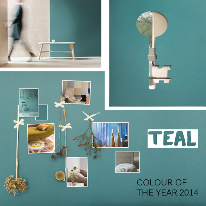 Colour of the year 2014 - TEAL