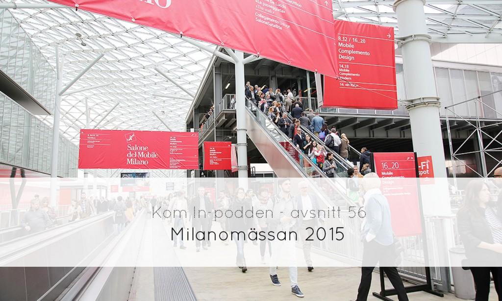 Milanomässan 2015 - fixaodona.se