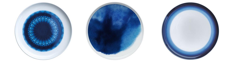 Tallrikar i blått - fixaodona.se