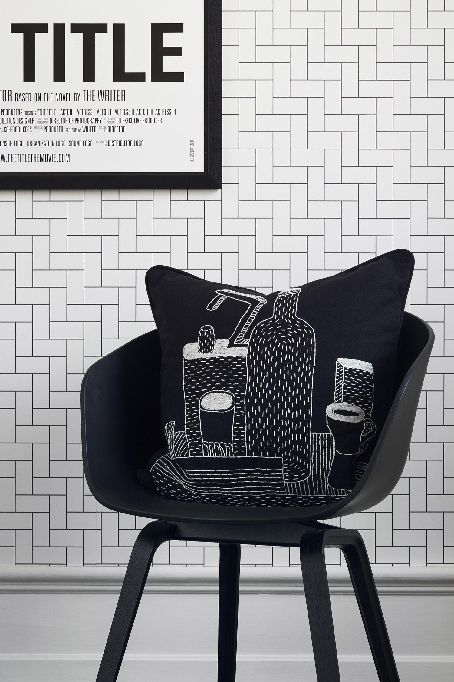 Black & White från Eco Wallpaper - fixaodona.se