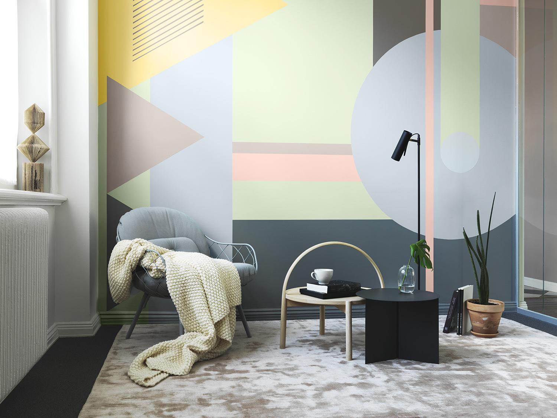 målningar på vägg