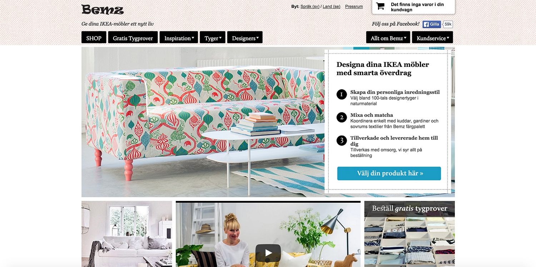 Bemz - ge dina IKEA-möbler nytt liv - fixaodona.se