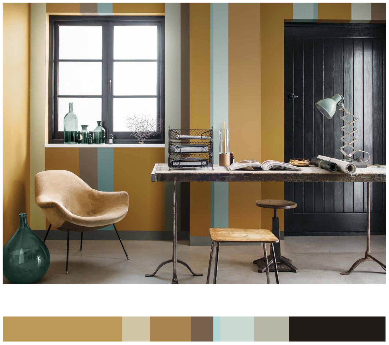 Nordsjö Colour of the year 2016 - Ochre Gold