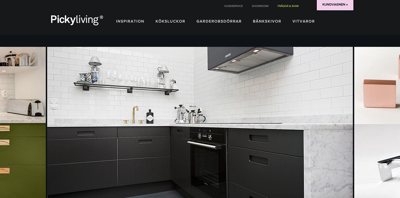 Köksluckor och garderobsdörrar från Pickyliving - fixaodona.se