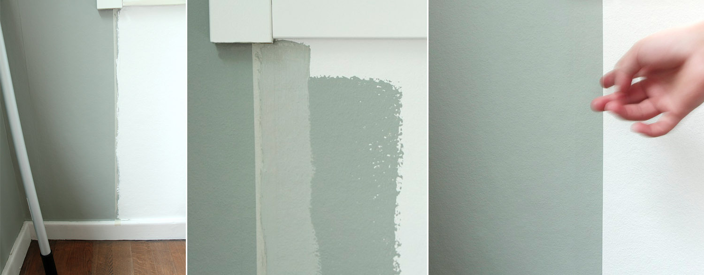 Så målar du skarpa kanter  - fixaodona.se
