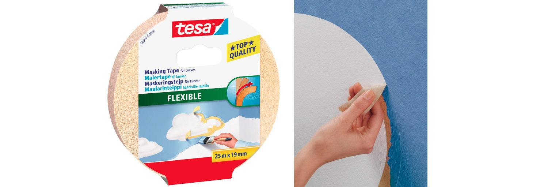 Tesa Flexible - perfekt till runda former