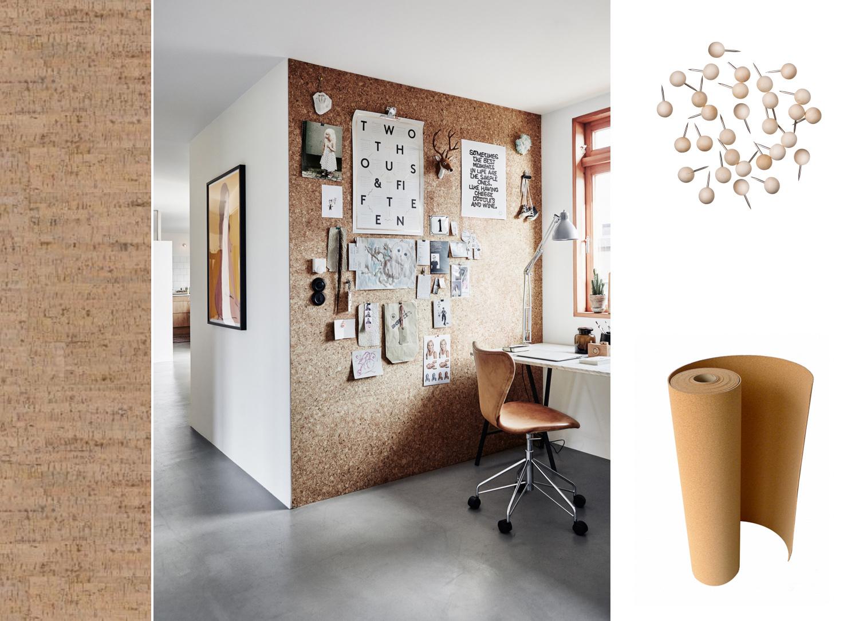 Inredning ljudisolering vägg : fixa&dona | Klä väggarna med kork