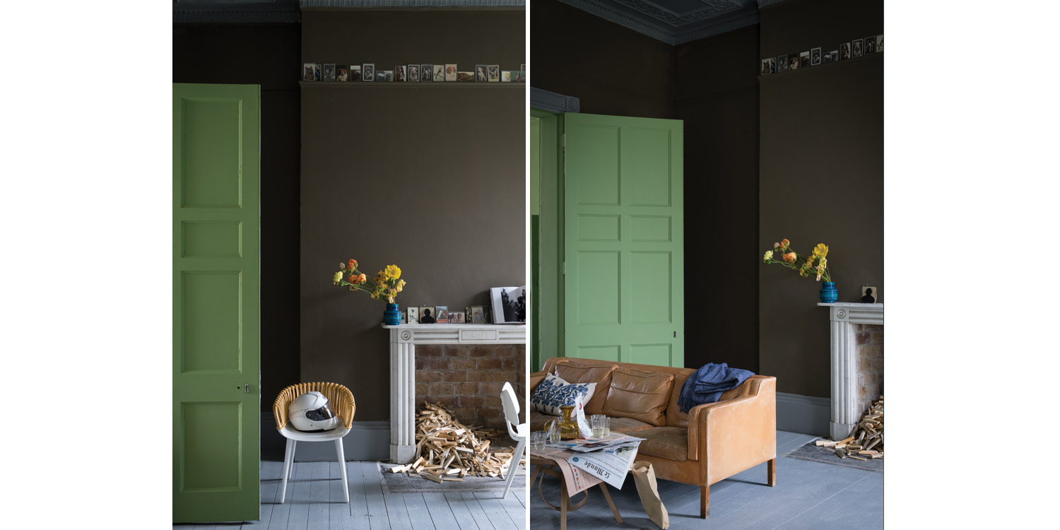 Farrow & Ball Salon Drab no. 290 - fixaodona.se