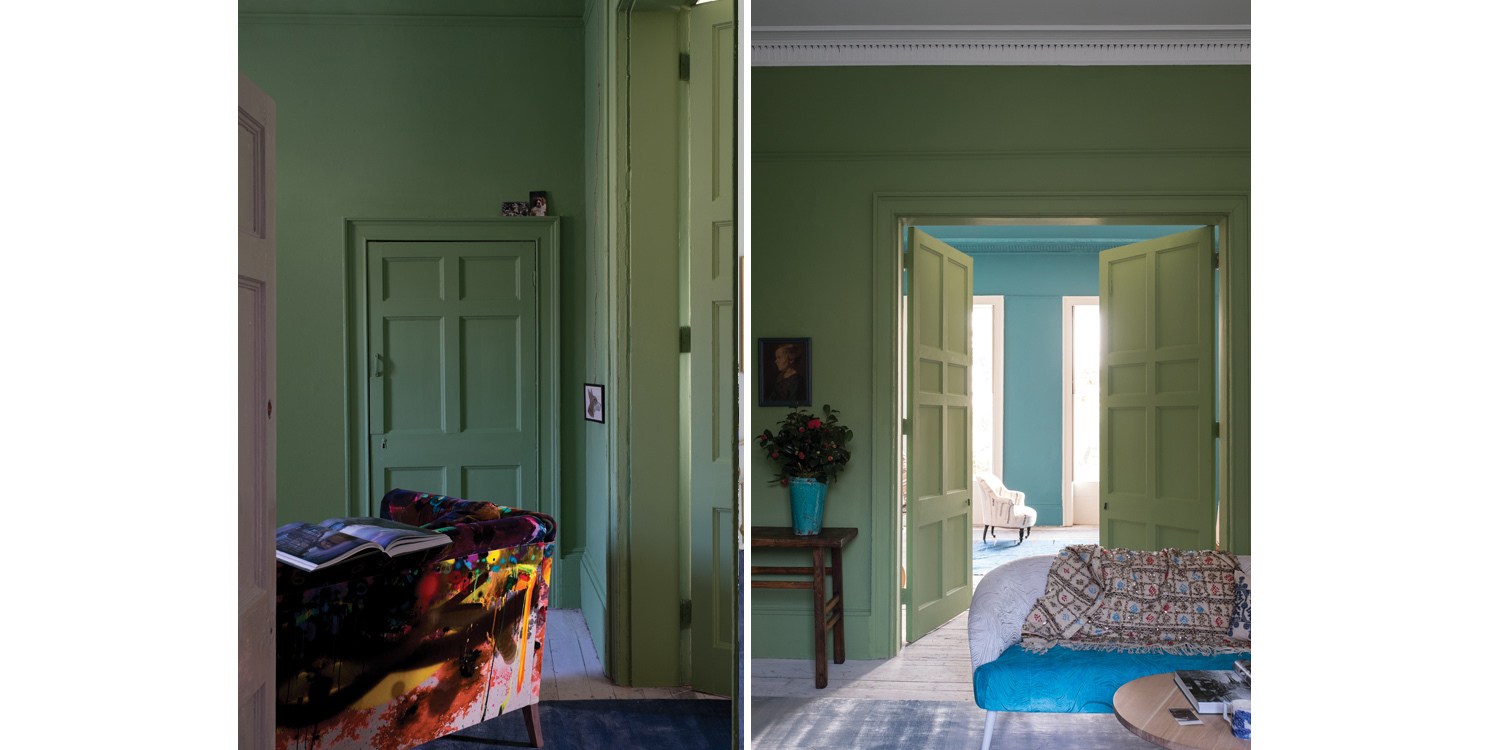 Farrow & Ball Yeabridge Green no. 287 - fixaodona.se