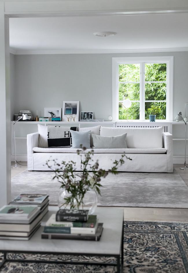 HoP Light Grey Vardagsrum Nordsjö Ambiance Xtramatt