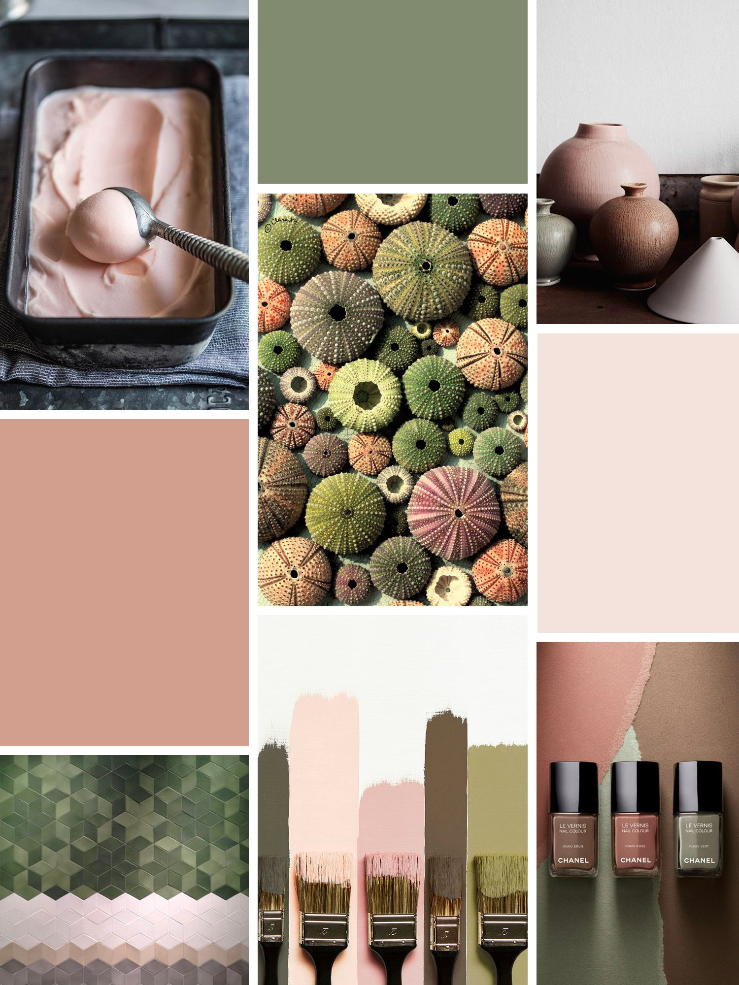 Moodboard: colours