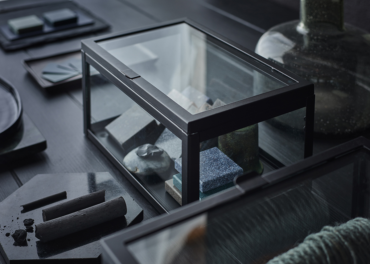 IKEA OKÄND glaslåda