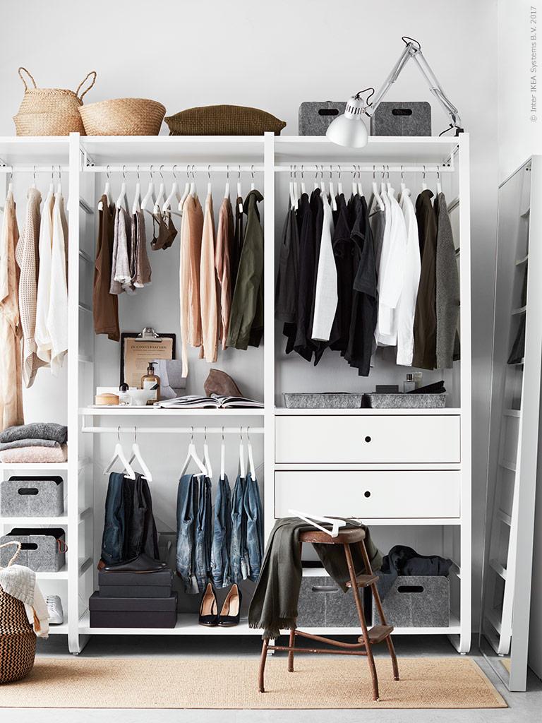 fixa&dona | förvaring till klädkammare, dressingroom, walk-in-closet