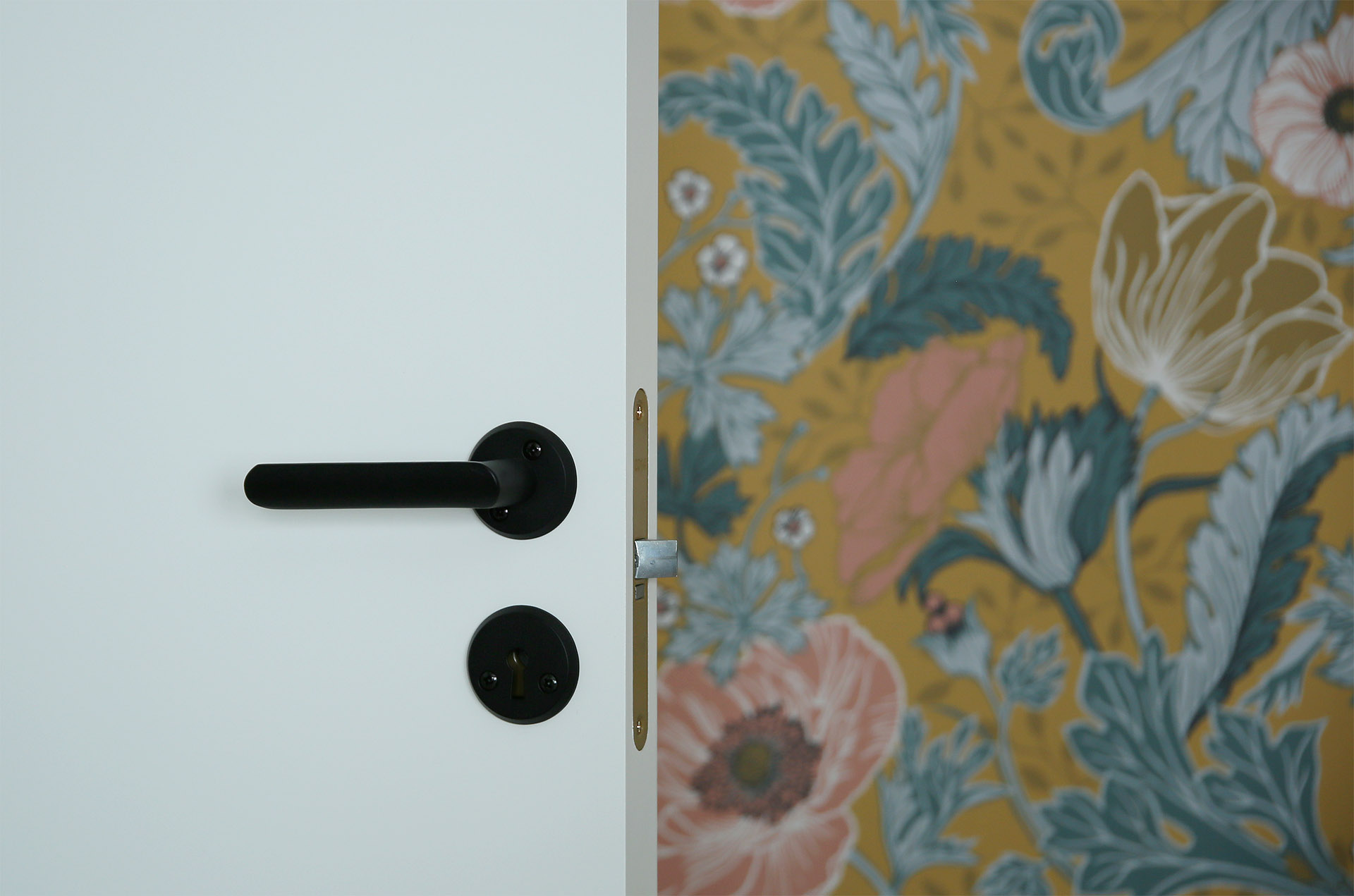 Svarta dörrhandtag för innerdörr - Habo - NewYork - fixaodona.se