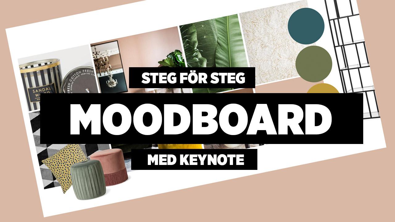 Steg för steg: Digital moodboard - så gör du