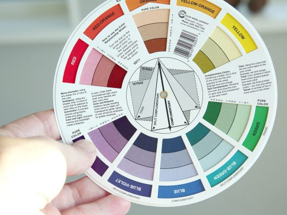 Ett färghjul som hjälper dig att kombinera färger - fixaodona.se