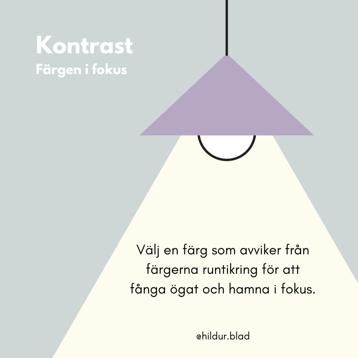 Välja färg på detaljer - kontrast - hildurblad.se