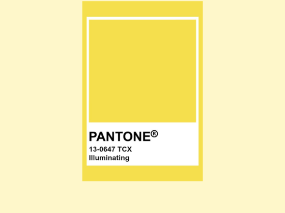Pantone Color of the Year - Illuminating 13-0647