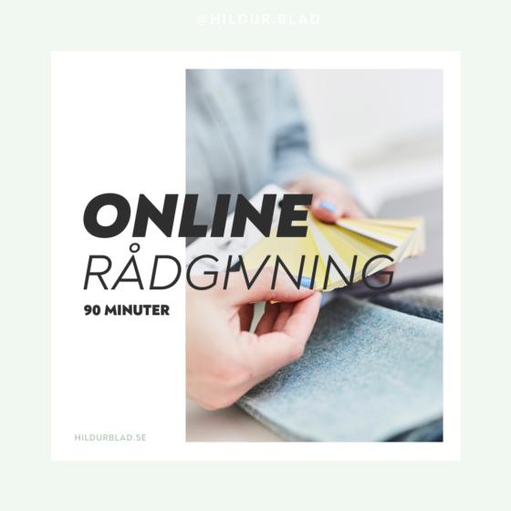 Online rådgivning 90 minuter - hildurblad.se